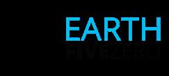 earthfivezero.com! Logo